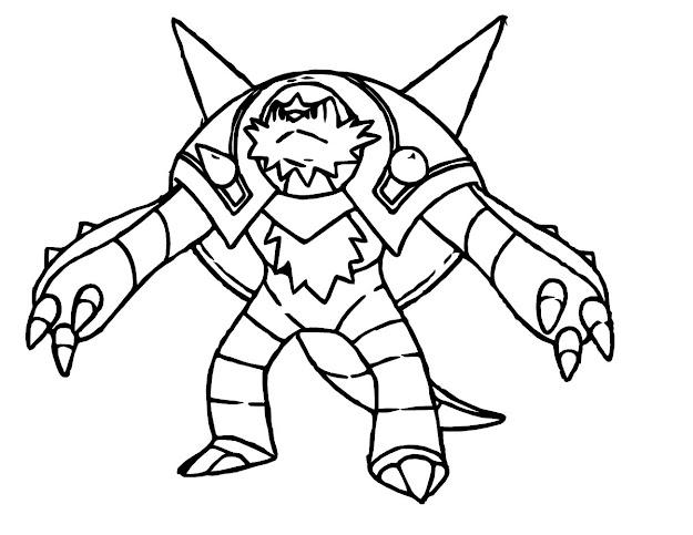 Pokemon Coloring Page Best Image