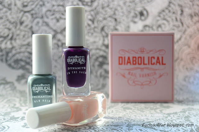 diabolical nail varnish firebox grand budapest hotel nailart