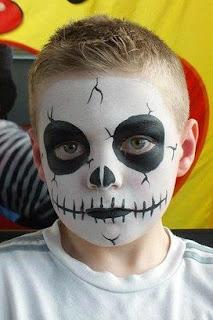 maquiagem de halloween para crianças