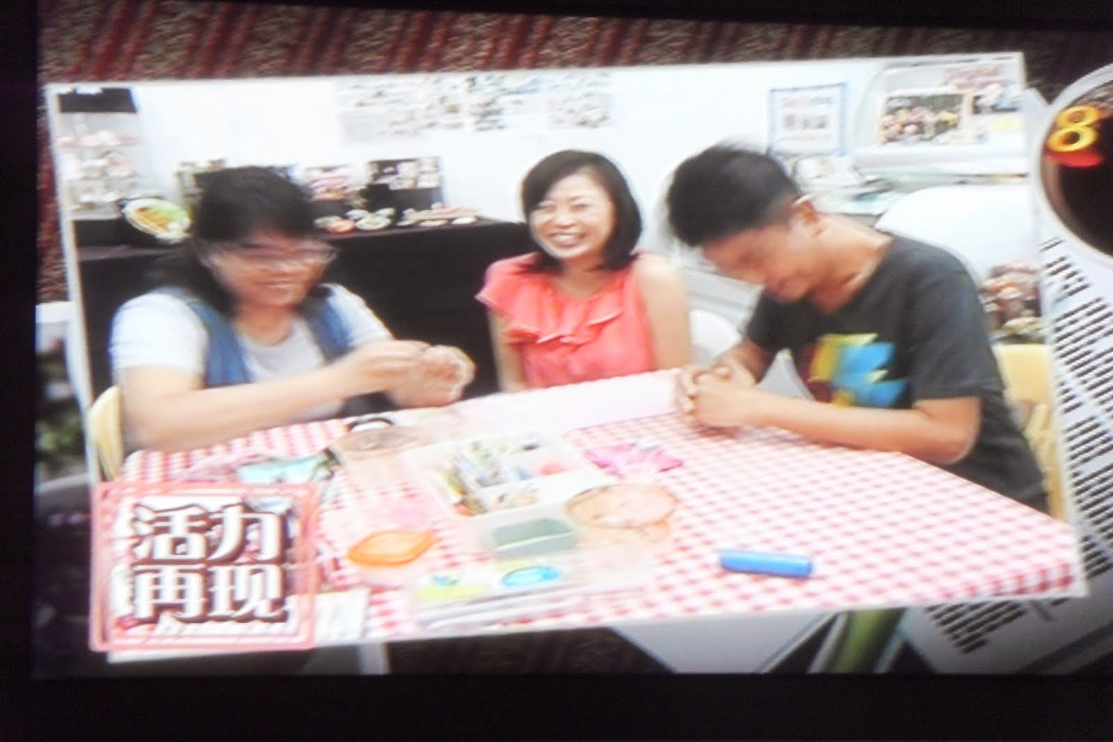 Featured on MediaCorp Studios (黄金年华光辉岁月)22nd Jul 2011