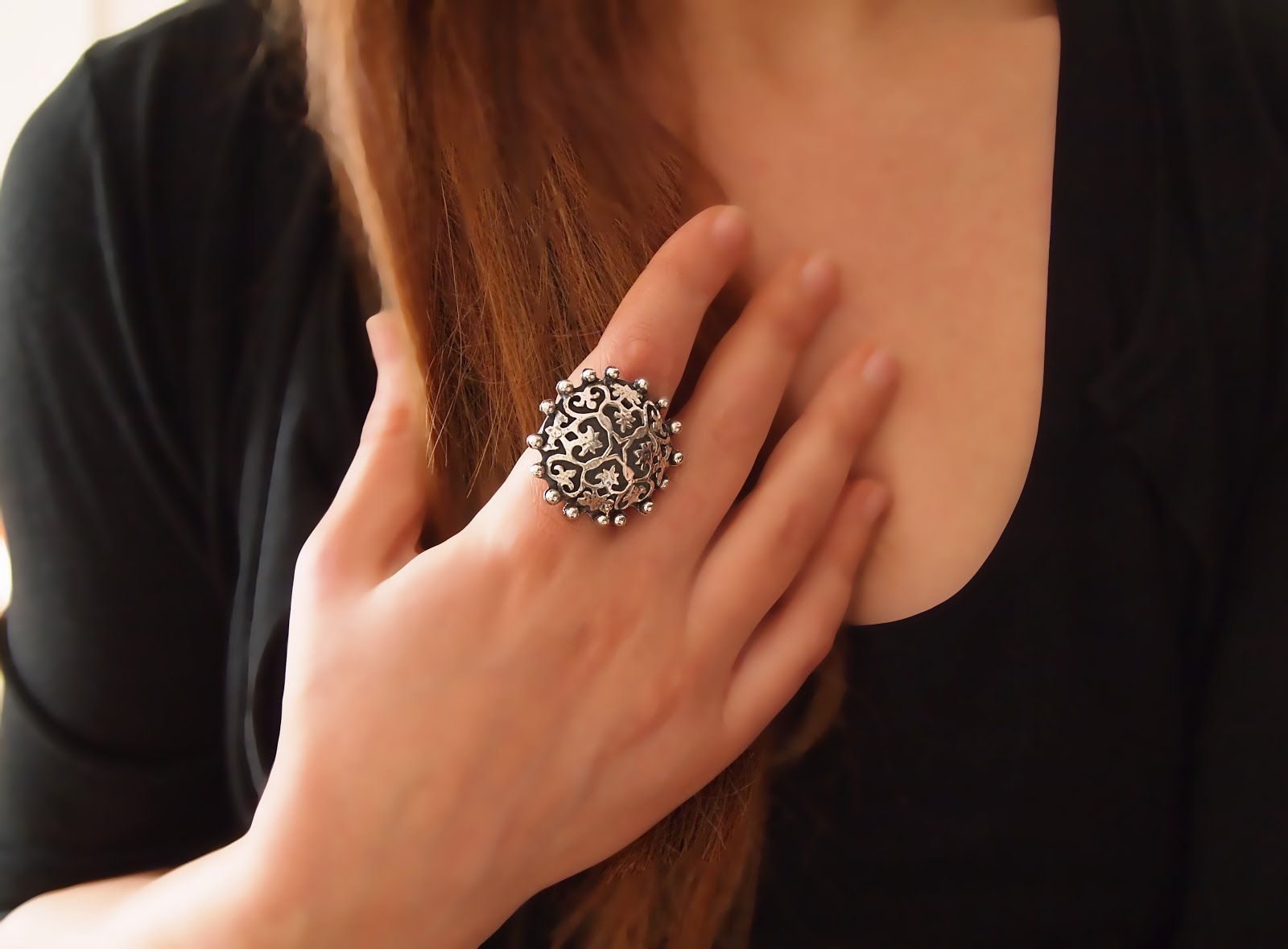 Statement Silver Ring