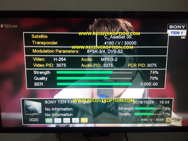 ECHOLINK 570 2018 HD RECEIVER POWERVU KEY NEW SOFTWARE