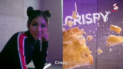 Nadine Lustre on why Jollibee Tuna Pie is her favorite snack