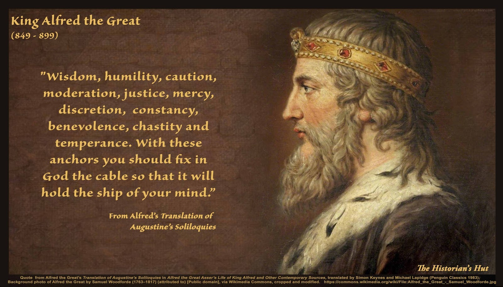 The Historian S Hut Quote Pictures King Alfred The Great