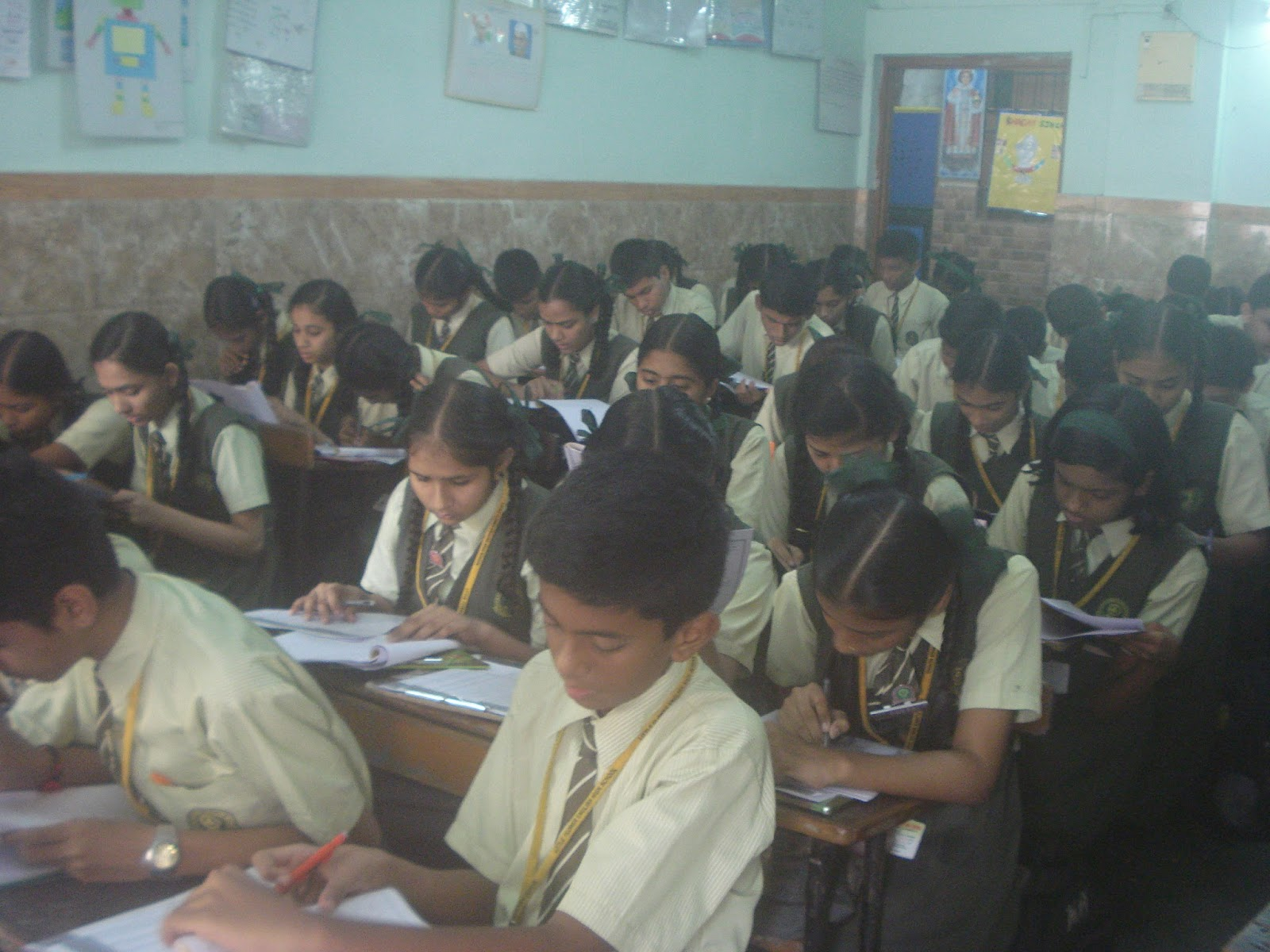 Aptitude Test for Career Guidance at Little Flower English High School