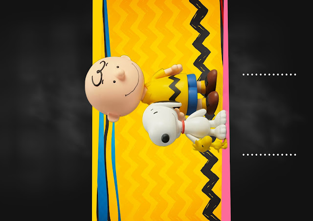 Snoopy and Charlie Brown: Free Printable Invitations.