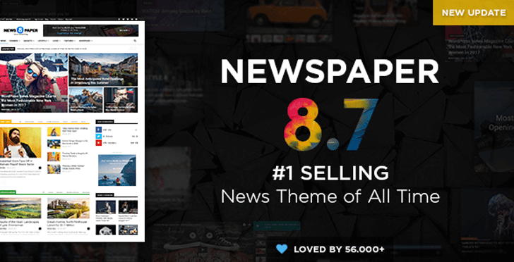 Newspaper v8.7 Premium WordPress Themes
