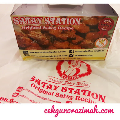 food review, satay station, satay sedap shah alam, original satay recipe