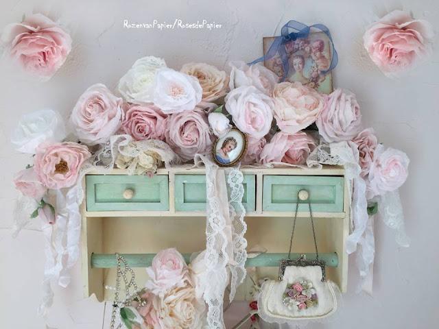 17 meilleures idées à propos de Roses En Papier sur Pinterest