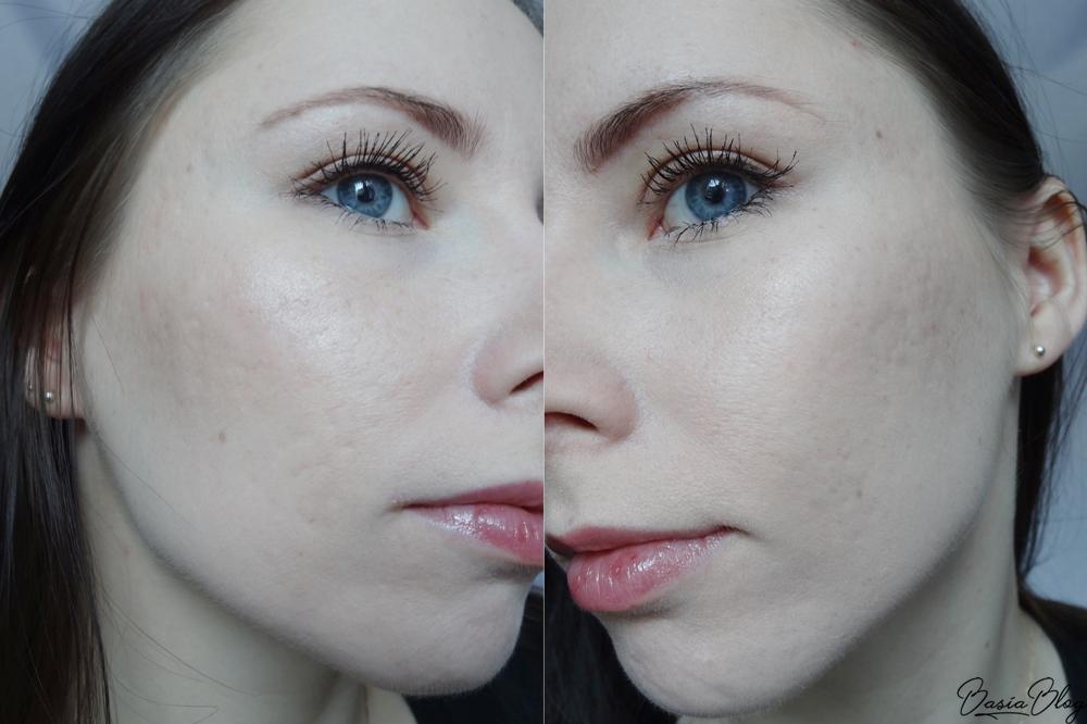 makijaż wykonany kosmetykami Eveline