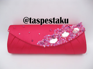 Tas Pesta Mewah Unik dan Cantik Pink Fanta