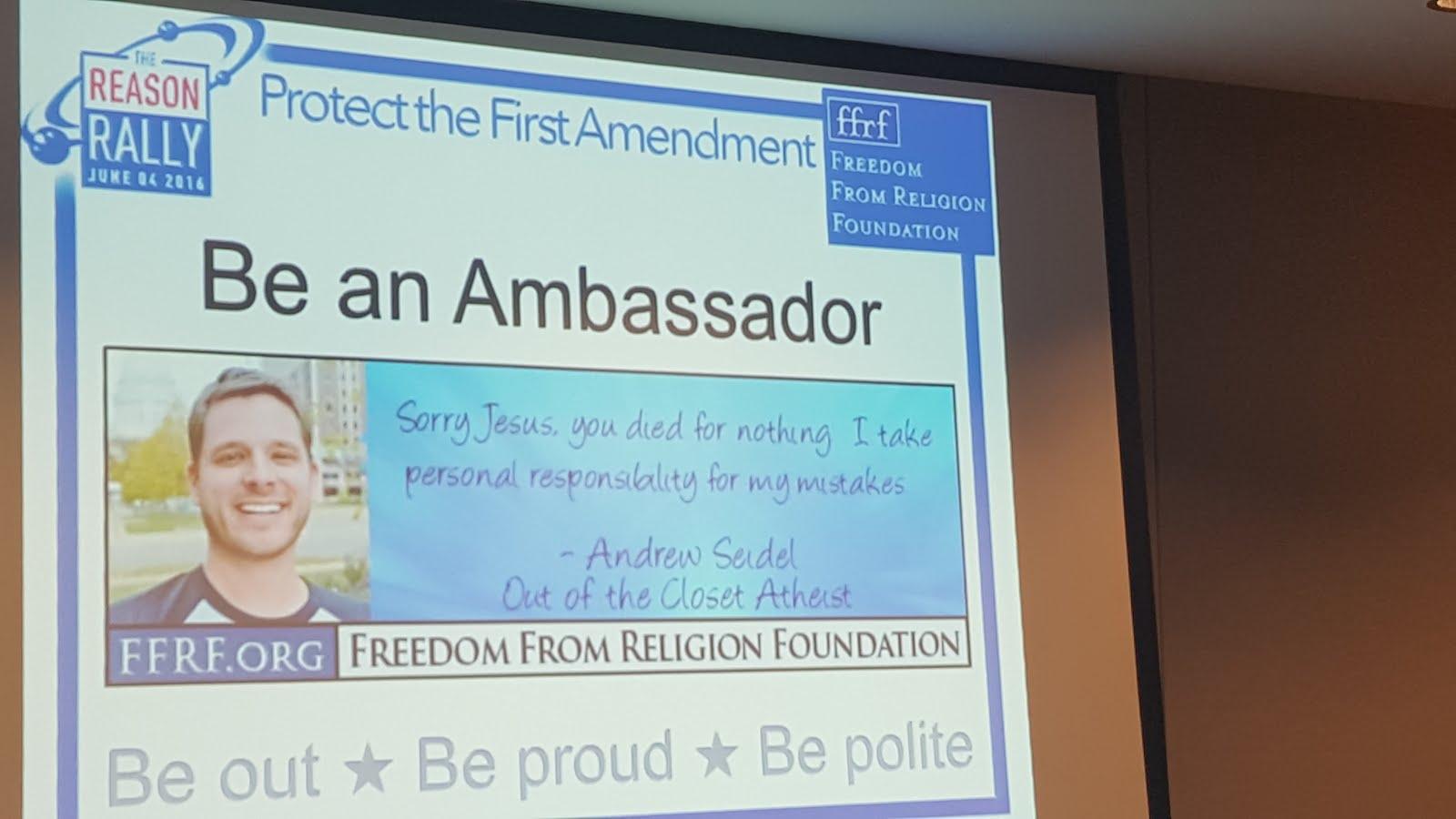 Freem from Religion Foundation