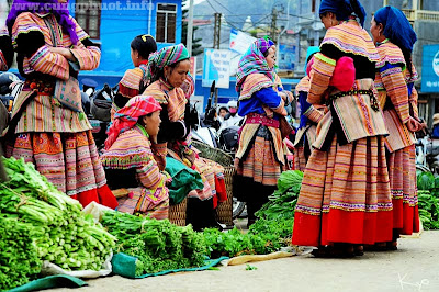 Độc đáo phiên chợ Bắc Hà ở huyện vùng cao Lào Cai