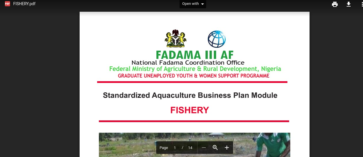 DOWNLOAD ALL FADAMA GUYS 2017 STANDARDIZED MODULES
