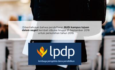 Beasiswa LPDP Kemenkeu Kembali dibuka