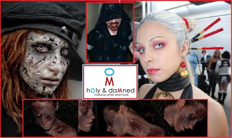Make up Zombie offerto da Fumettopoli
