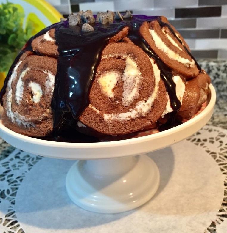 Dankekli Muzlu Çikolatalı Baton Pasta 41