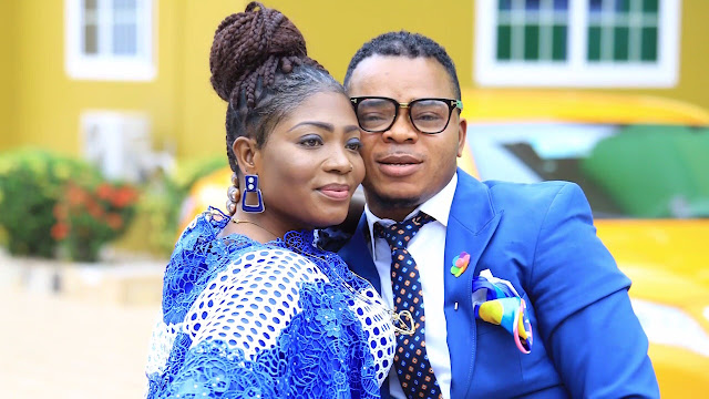 Bishop Daniel Kwadwo Obinim and his Wife Florence Obinim.