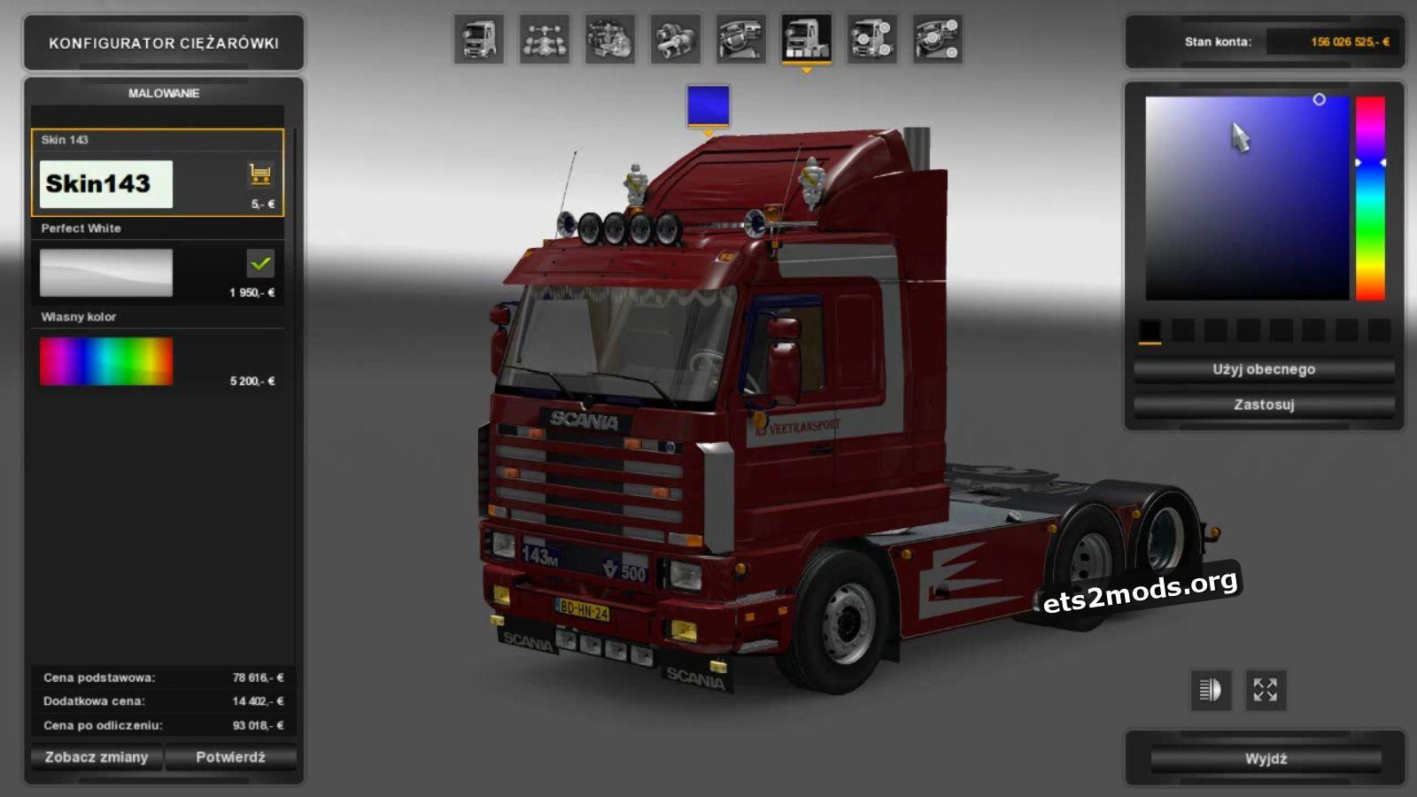 Scania 143 Truck