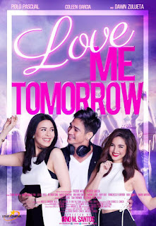Love Me Tomorrow is a 2016 Filipino romantic drama film starring Piolo Pascual, Dawn Zulueta and Coleen Garcia.