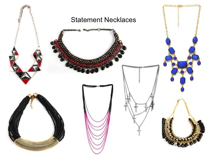 Statement Neckpieces Chunky Necklaces