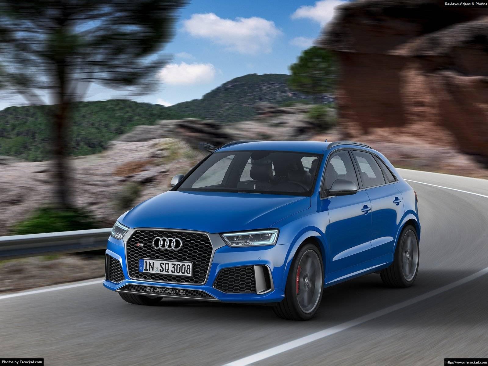 Hình ảnh xe ô tô Audi RS Q3 performance 2017 & nội ngoại thất