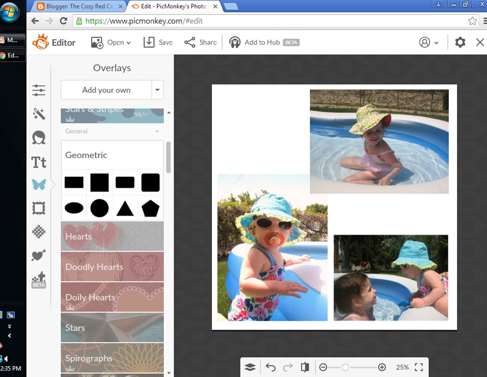 The Cozy Red Cottage: How To Digital Scrapbook in PicMonkey