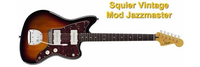 Guitarra Eléctrica Squier Vintage Mod Jazzmaster