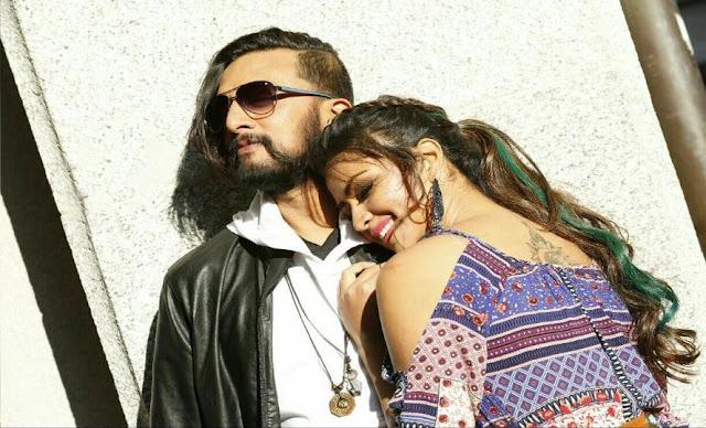 Amala Paul, Sudeep Latest Photos in Hebbuli Kannada movie
