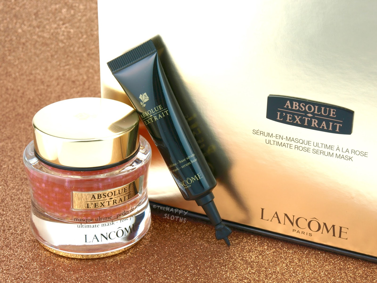 Lancome Absolue L'Extrait Ultimate Rose Serum Mask Review