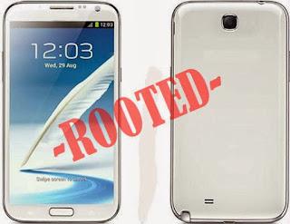روت E250KKTUKNE6 لهاتف Galaxy Note 2 SHV-E250K لاندرويد 4.4.2 كيت كات مع شرح التركيب CF-Auto-Root
