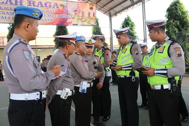 Mendadak, Seluruh Personel Polres Kebumen Dirazia Propam!!!!
