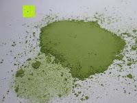 Pulver platt gedrückt: matcha108 - Bio Matcha Tee in Premium Qualität (Ceremonial Grade), 108g direkt von der Öko-Plantage (kbA.)