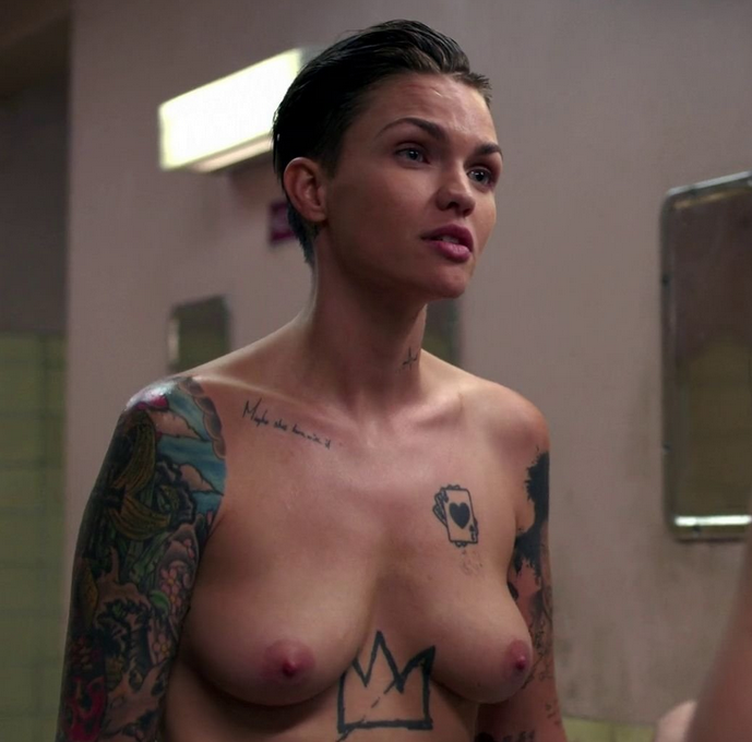 Ruby rose orange is the new black nude