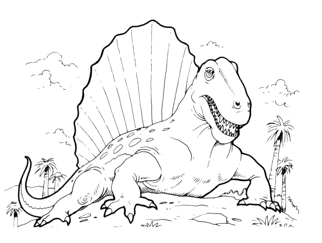 Coloriage Dinosaure A Imprimer Gratuit Liberate