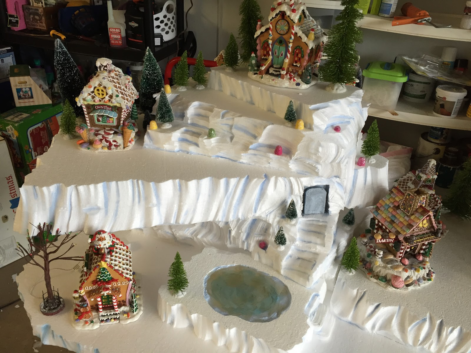 Copeland Christmas Blog Making A Mini Christmas Village