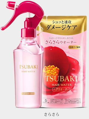 japanese hair styling products review shiseido tsubaki damage care hair water it s 8531