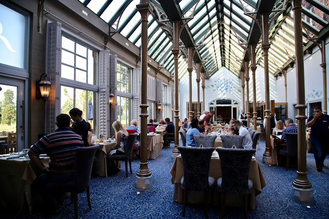 The Orangery restaurant at Rockcliffe Hall, County Durham pic:Kerstin Rodgers/msmarmitelover.com