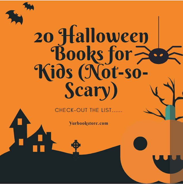20 Halloween Books for children's