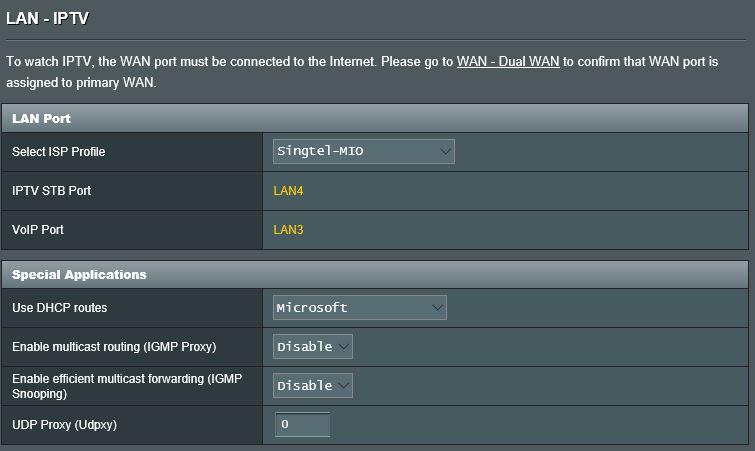 Singtel wifi gigabit router ac1900 port forwarding
