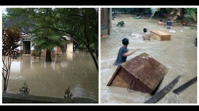 banjir di kuningan jawa barat