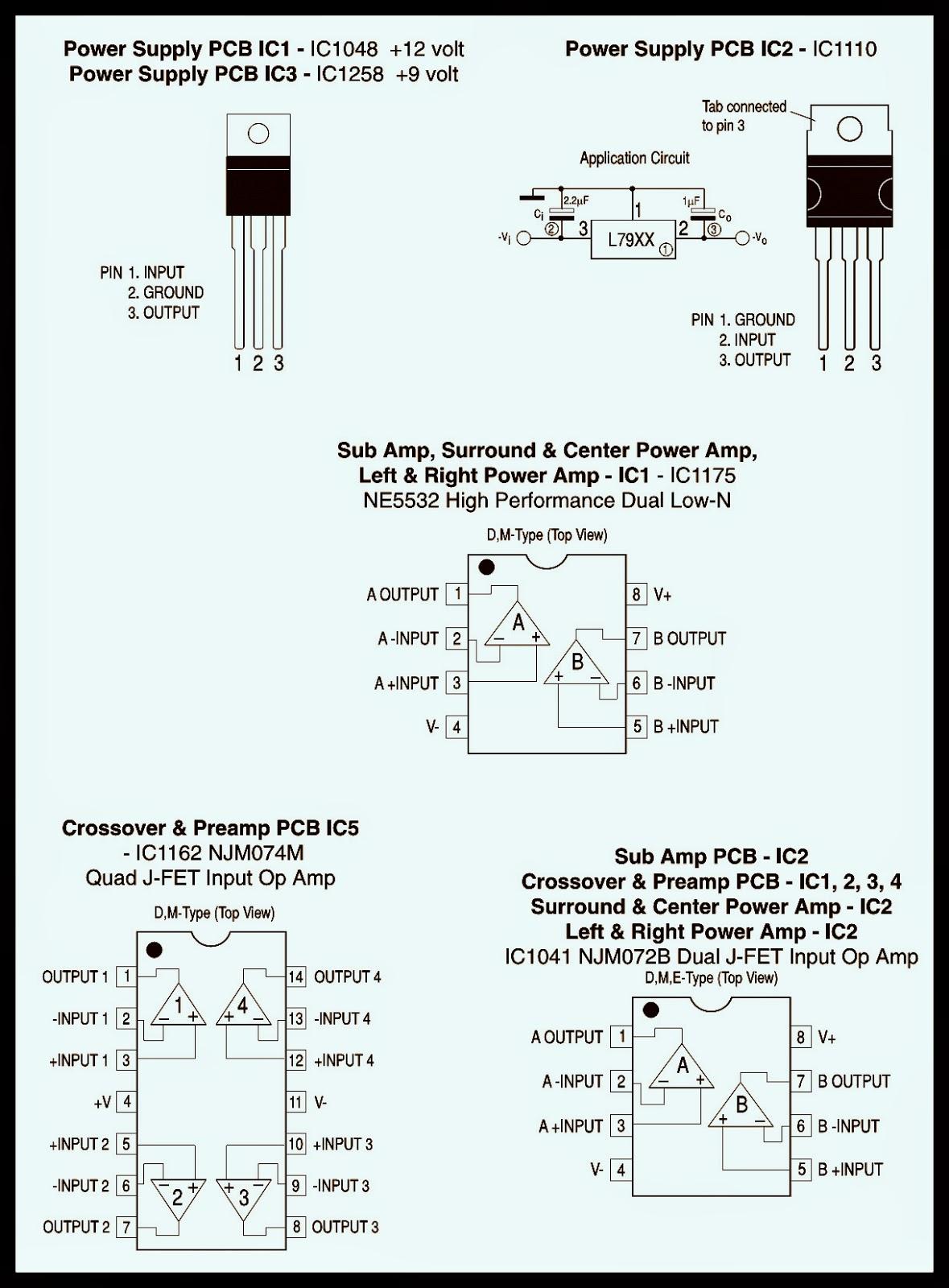 BASS 550 JBL Powered Subwoofer  SCHEMATIC (Circuit