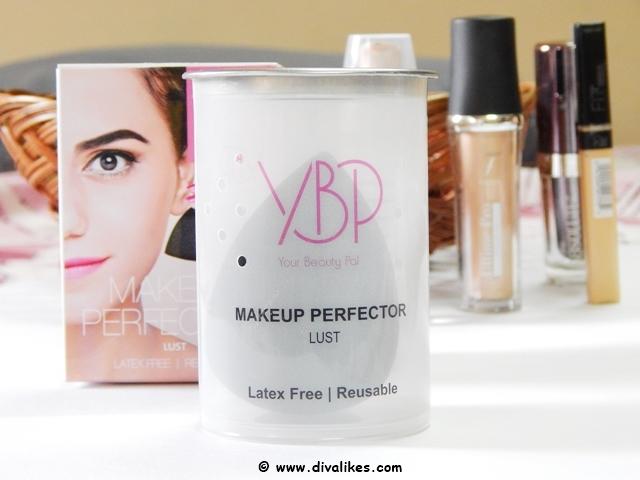 YBP Makeup Perfector Sponge Lust Black
