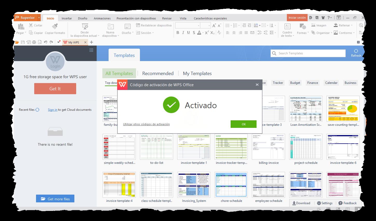 WPS Office 2016 Premium 10,2,0,5965 - Identi