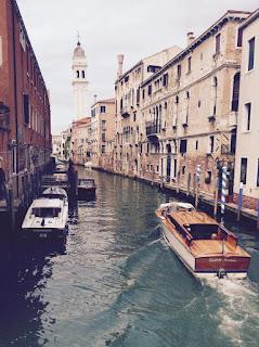 Bâteaux à Venise