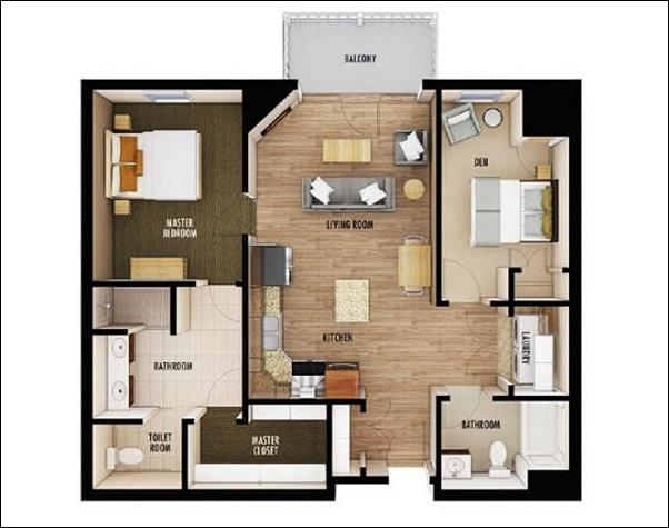 casa simples aconchegante
