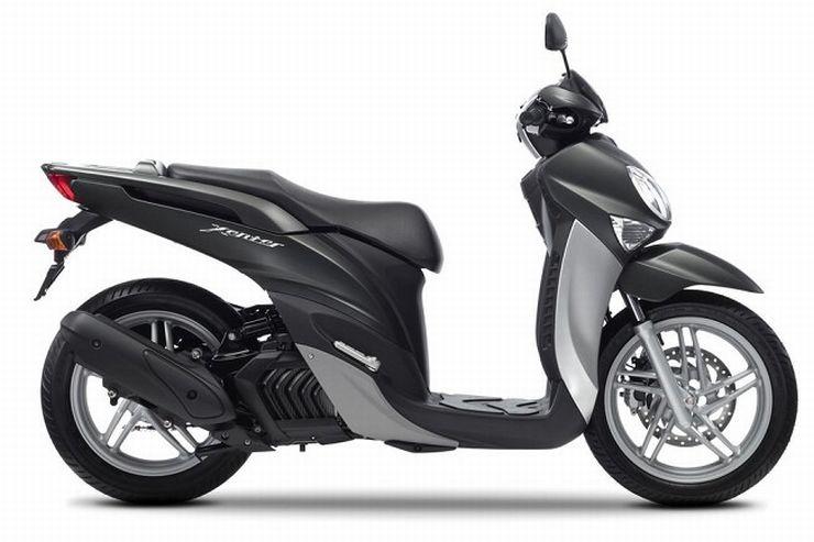 Bela Moto  Xenter 150 é a nova scooter da Yamaha na Europa 970552fac7bd7