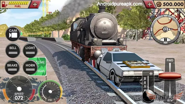 Train Simulator 2016 HD Apk Download Mod+Hack+Paid
