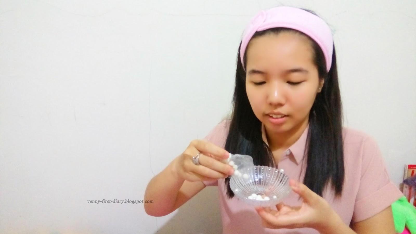 Review Ovale Masker Bedak Dingin Secantik Mutiara Dengan