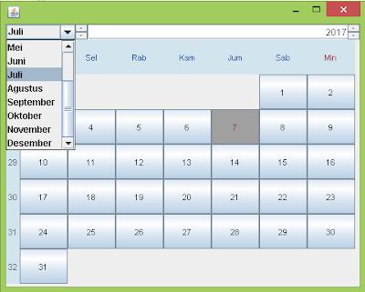Cara Menambahkan Kalender di Java Netbeans 6.0